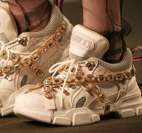 a6de97e2ed5 Gucci s Chunky Bejeweled SEGA-Branded Sneaker Drops In July ...